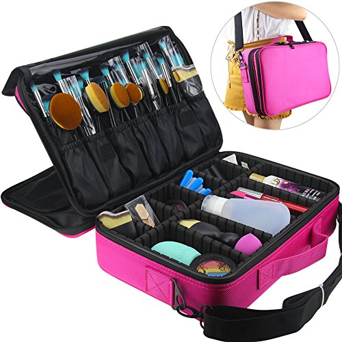 travelmall professional makeup cosmetic organizer make